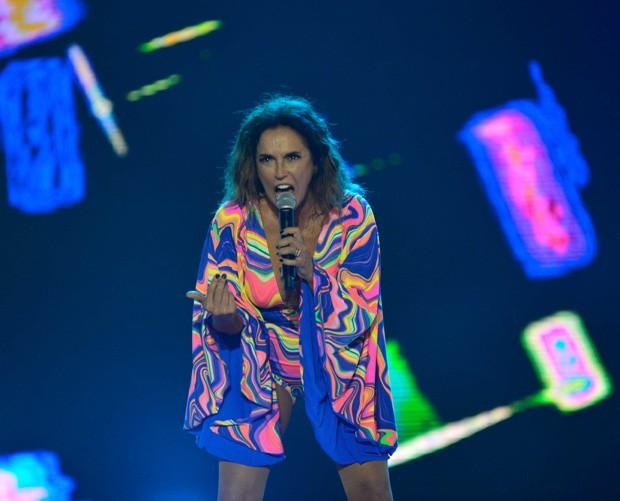 Daniela Mercury no Pôr do Som (Foto: André Muzell/Brazil News)