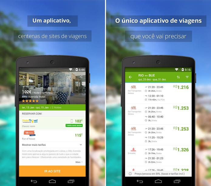 Wego Flights & Hotels é um app para buscar hotéis e passagens aéreas promocionais (Foto: Divulgação)
