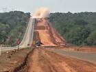 Trecho da BR-364 em Mato Grosso é bloqueado para detonação de rochas