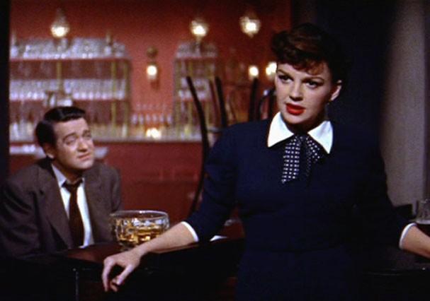 """Judy Garland e James Mason em """"Nasce Uma Estrela"""", de 1954 (Foto: Reprodução)"""
