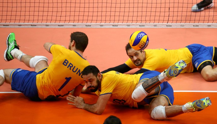 vôlei Brasil e México Olimpíadas  (Foto: Agência Reuters)