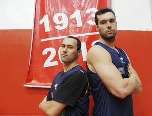 Murilo e Fulvio São José Basquete (Foto: Arthur Costa/ Globoesporte.com)
