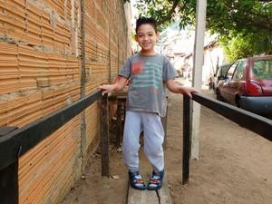 Kauan mostrou melhoras após tratamento feito em casa (Foto: Paulo Santana/Arquivo Pessoal)