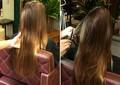 Técnica do 'Bordado' promete acabar com pontas duplas sem encurtar o cabelo (Foto: Mais Você / TV Globo)