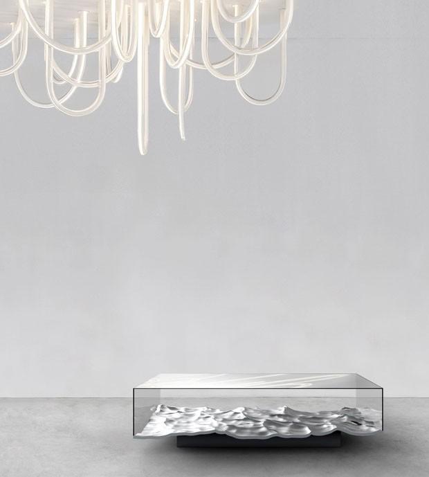 """London Design Festival: Mathieu Lehanneur apresenta peças da série """"mármore líquido"""" (Foto: Divulgação)"""