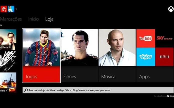 Diversos aplicativos estão disponíveis para os dois consoles (Foto: Reprodução/Murilo Molina)