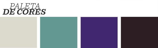 Décor do dia: quarto boho com detalhes ultra violet (Foto: Reprodução)