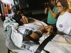 Palestinos feridos em Gaza chegam à Turquia para tratamento médico