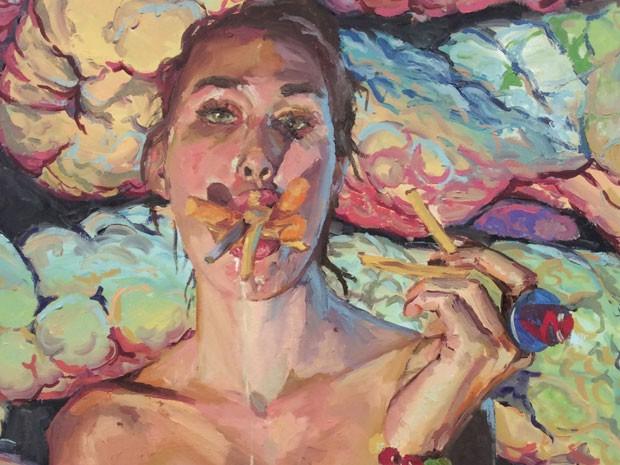 Jovem diz que busca descontruir o conceito de ser sexy com sua arte (Foto: Reprodução/Facebook/Monika Rostvold)