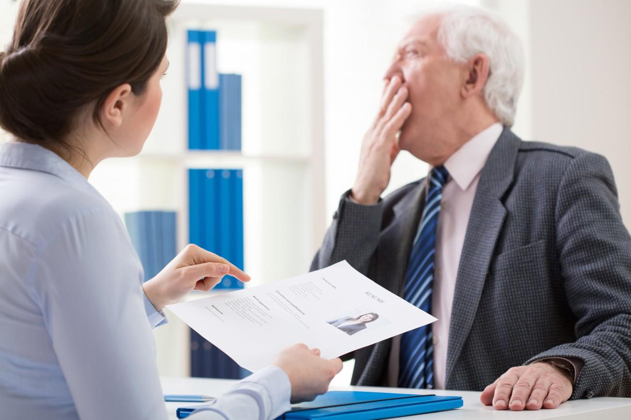 Como identificar um<br />chefe ruim em uma<br />entrevista de emprego
