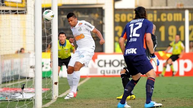 andré santos gol corinthians (Foto: Marcos Ribolli / Globoesporte.com)