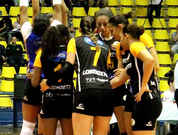 vOlei jogadoras do São Bernardo (Foto: Divulgação / São Bernardo Vôlei)