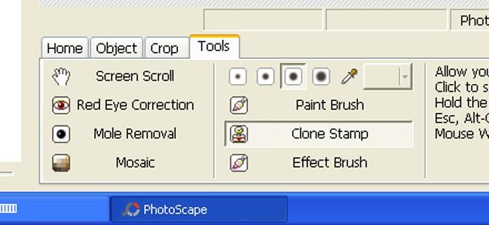 Selecione a ferramenta Clone Stamp (Foto: Reprodução/André Sugai)