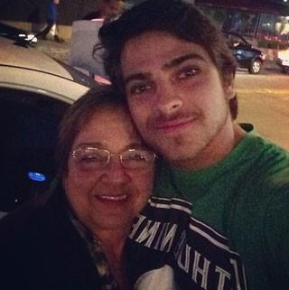 Bernardo Mesquita e avó (Foto: Reprodução/ Instagram)