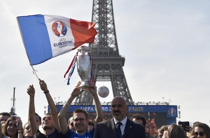 Festa de abertura Eurocopa 2016 (Foto: AFP)