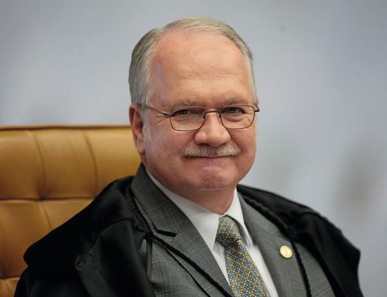 O ministro do Supremo Tribunal  Edson Fachin (Foto:  Agência Senado)