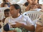 650 mães participam de 'mamaço' coletivo em Fortaleza neste domingo