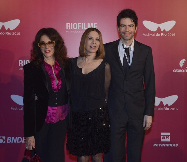 Christiane Torloni, Liège Monteiro e Luís Fernando Coutinho (Foto: Fabio Cordeiro/Ed. Globo)