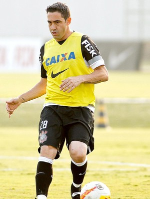 Chicão treino Corinthians (Foto: Daniel Augusto Jr. / Ag. Corinthians)