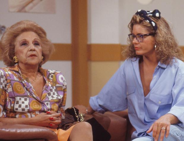 Nair Belo e Vera Fischer  (Foto: Memória Globo)