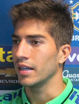 Lucas Silva seleção olímpica (Foto: Felipe Schmidt)