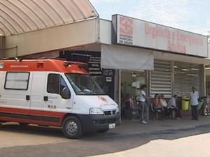 Adolescente foi socorrido para o Pronto-Socorro Central com ferimentos leves (Foto: Reprodução / TV TEM)