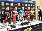 Cinco são presos após tentativa de furto à agência bancária em Manaus