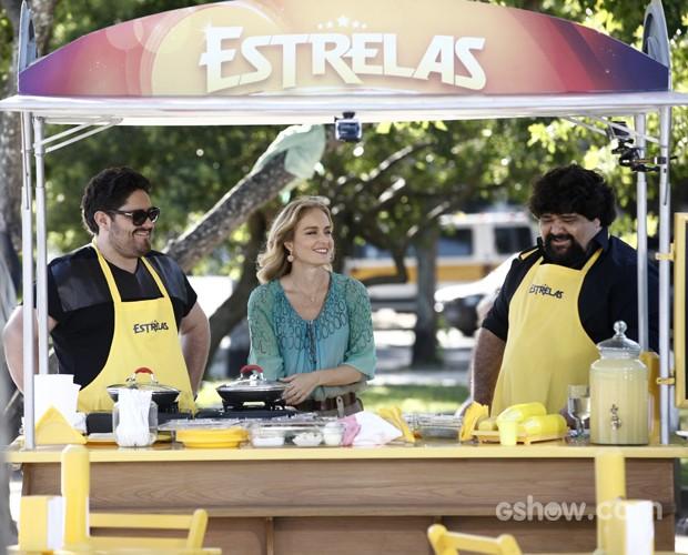 dupla (Foto: Inácio Moraes/TV Globo)