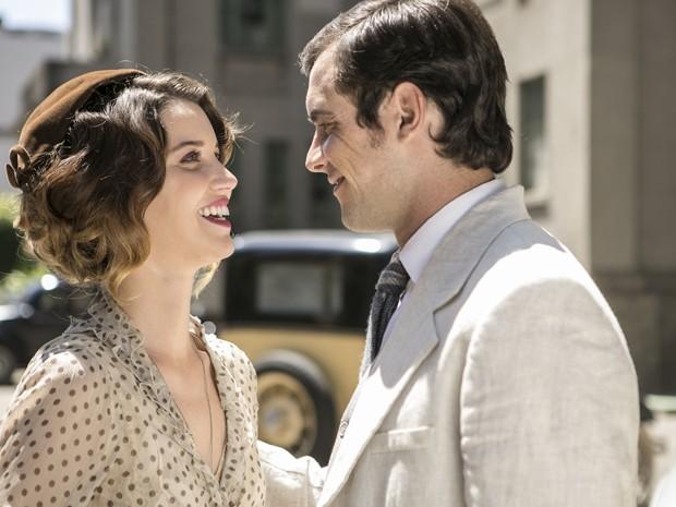 No passado, o casal foi feliz (Foto: Inácio Moraes/ Gshow)