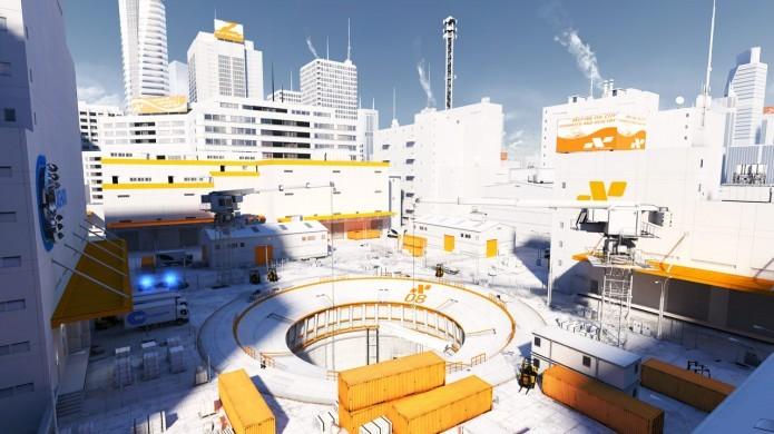 Mirror Edge transporta o jogador para um futuro distópico (Foto: Divulgação)