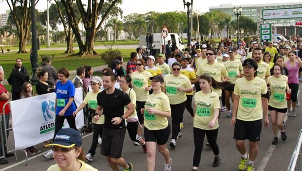 Corrida e Caminhada Esperança (Foto: Euricles Macedo/ RPC TV)