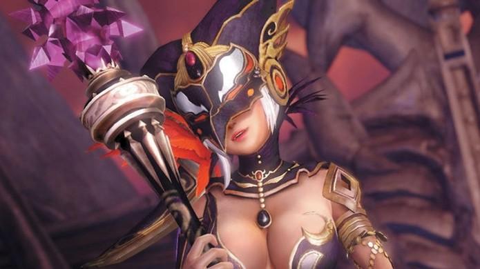 Bruxa Shia será a principal vilã da história de Hyrule Warriors (Foto: famitsu.com)
