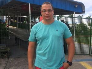 Jorge Magno tentou conversar com suposto homem bomba (Foto: Maiana Belo/G1)