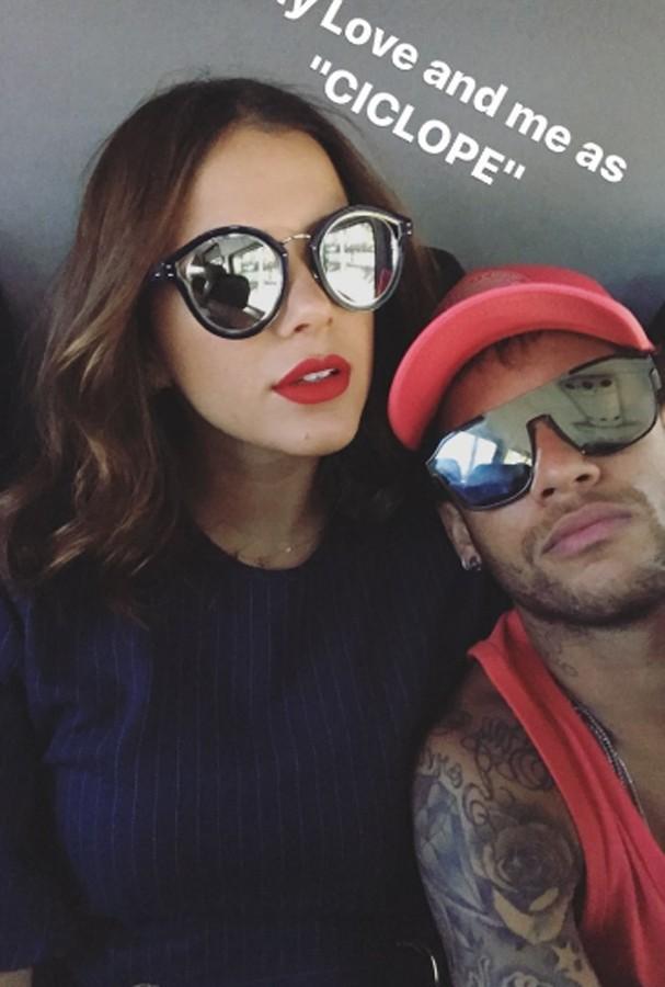 Neymar publicou foto com Marquezine (Foto: Instagram/Reprodução)