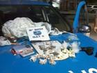 PM encontra arma e drogas em casa abandonada em Campos, no RJ