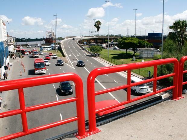 Viaduto será construído na área central de Porto Alegre (Foto: Divulgação/PMPA)
