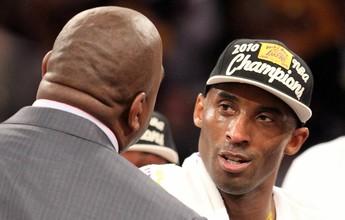 Magic Johnson concorda com adeus de Kobe e o aproxima de Jordan
