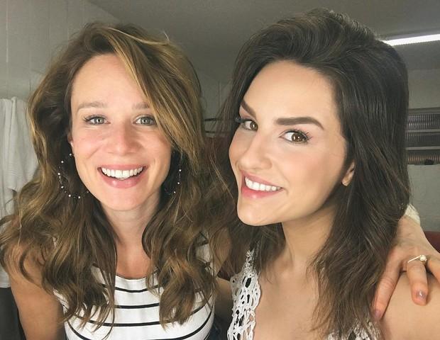 Kéfera diz que acha Mariana Ximenes uma atriz muito sensacional (Foto: Reprodução/Instagram)