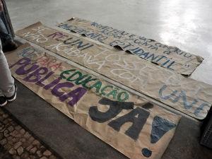 Estudantes ocupam reitoria da UFPR (Foto: Divulgação/UFPR)