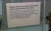 Boato sobre multa por não cadastrar biometria lota cartórios eleitorais