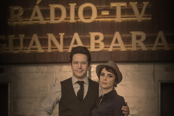Os personagens de Murilo Benício e Débora Falabella vivem em crise em 'Nada Será Como Antes' (Foto: Estevam Avellar / TV Globo)