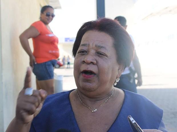 Delegada Vilma Alves defende castração dos suspeitos de estupro coletivo (Foto: Priscila Caldas)