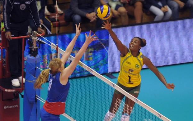 fabi Brasil x Sérvia vôlei feminino