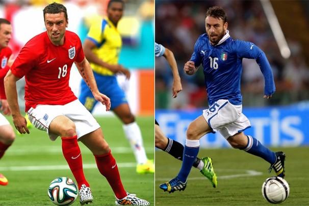 Às 19h (horário de Brasília), o clássico europeu entre Inglaterra e Itália acontece na Arena Amazônia, em Manaus (Foto: globoesporte.com)