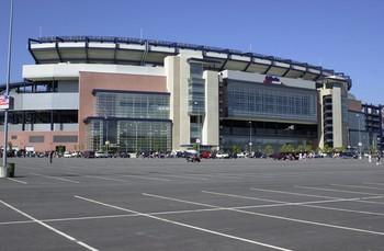 Gillette Stadim New England Patriots NFL (Foto: John Mottern / Getty Images)