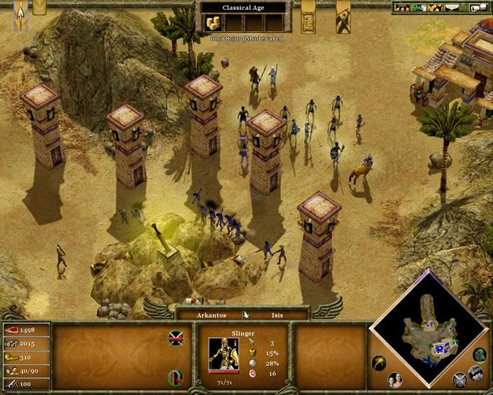 Oferecendo uma campanha divertida e um bom modo multiplayer, Age of Mythology: Extended Edition é um excelente resgate ao gênero de jogos de estratégia em tempo real (Foto: Reprodução/Daniel Ribeiro)