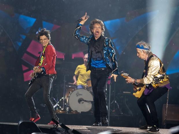 Os Rolling Stones se apresentam no estádio do Morumbi, em São Paulo - 24/02/2016 (Foto: Marcelo Brandt/G1)