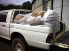 Materiais de pesca predatória são incinerados em Governador Valadares