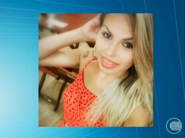 Pâmella Leão foi atingida com um tiro na cabeça durante o Corso de Teresina (Foto: Reprodução/TV Clube)