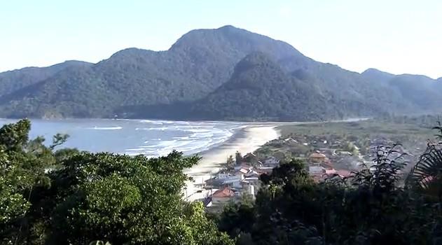 Estação Ecológica Juréia-Itatins (Foto: Reprodução/TV Tribuna)